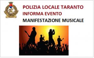 MANIFESTAZIONE MUSICALE